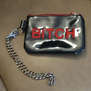 NWOT B*tch Coin Wallet